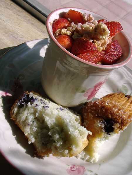 Strawberries&muffin1