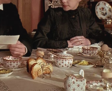 Howards End Tea Things Closeup