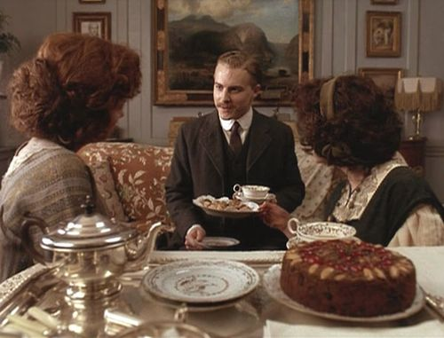 Howards End Leonard Comes for Tea
