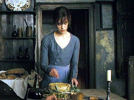 Lizzie cooking