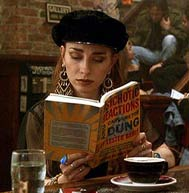 Reading over coffee
